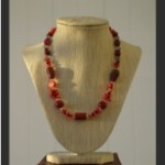 Necklaces in red-1