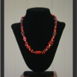Necklaces in red-2