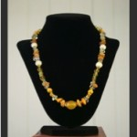 Necklaces in yellow-1